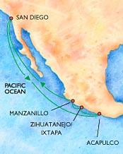 Mexican Riviera Baja Cruises World Voyager Vacations - Mexican cruises